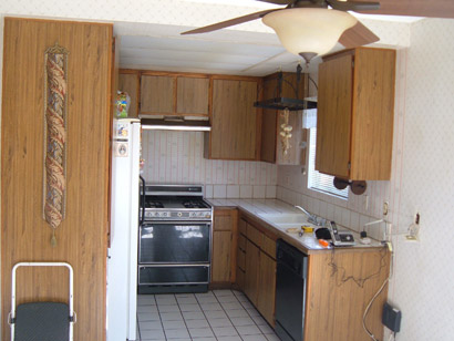 Covina kitchen remodel before.